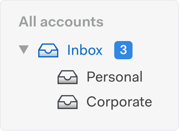 unified inbox icon